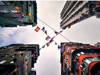 跟着摄影师游走在香港的街头