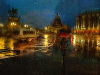 Eduard Gordeev:唯美雨景街拍作品