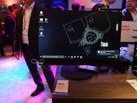 CES2016:ThinkVision X24 Pro Monitor现场图赏