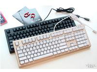 雷柏V510S防水混彩全无冲机械键盘图赏