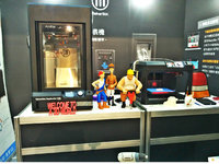 MakerBot展台掠影:经典机型亮相