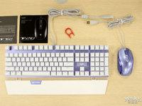 光彩溢色美美哒 雷柏V760键盘V210鼠标Miss定制图赏