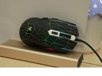 裂纹视觉效果出色 雷柏V26S游戏鼠标图赏