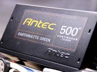 全模组设计 安钛克EA500 Green电源新品图赏