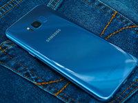 夏日一抹清凉 国行三星Galaxy S8+雾屿蓝版图赏