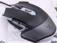披上幻彩外衣 雷柏V302光学游戏鼠标图赏