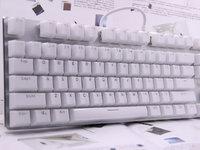 雷柏V500RGB冰晶幻彩背光游戏机械键盘图赏