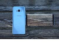 情迷雾屿蓝三星盖乐世S8+真机美图