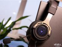全包耳式封闭设计 雷柏VH150背光游戏耳机图集赏析