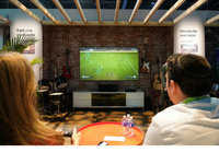 CES现场感受海信150�技す獾缡� 今年看世界杯就靠它了