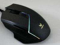 双模让使用更便捷 雷柏V320游戏鼠标图赏