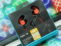 雷柏VM150入耳式游戏耳机图赏