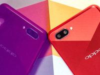 OPPO A5幻镜红图赏:超强续航的千元全面屏手机