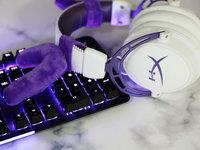 耳机界的白富美 HyperX Cloud Alpha Purple阿尔法紫晶版游戏耳机图赏