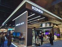 CES2020现场:康佳展示8K Micro LED电视、智慧双屏等新品