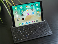 iPad�^配:雷柏XK100�o��{牙�I�P�D�p