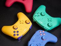 莱仕达Switch六轴体感游戏手柄图赏
