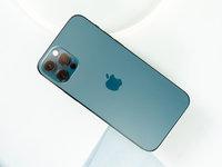 iPhone 12 Pro海蓝色开箱图赏