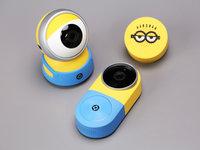 高科技潮品 小白智能视频门铃小黄人套装图赏