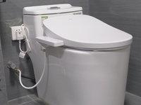 民宿中的智能马桶 有了它就不用担心卫生问题了!