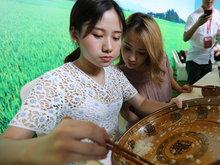 杭州百人生撸大米饭 90后摄影吃完8斤