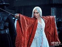 《白发魔女传之明月天国》:范冰冰银发剑影舞霓裳