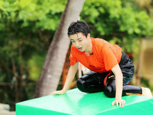 王俊凯,高能少年团,水上篮球,