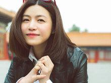 陈妍希,游故宫,笑颜如春,