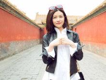 陈妍希,笑容,暖化了,