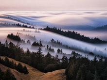 美国工程师踏遍加州名川拍震撼云海