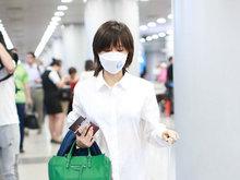 王子文,妖精,下衣失踪,机场,口罩遮面,