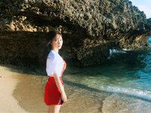 柳岩,海边,度假,柳岩写真,