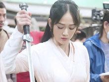 《独孤皇后》热拍 陈乔恩送别独孤伽罗