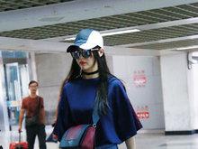 唐嫣,牛仔裤,机场,八卦爆料,国内女明星,
