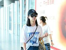 宋茜,热裤,白T恤,八卦爆料,国内女明星,美腿,
