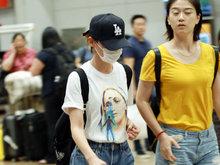 袁姗姗,机场,八卦爆料,国内女明星,美腿,