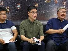《国学小名士》开放媒体探班李山、郦波、马伯庸接受媒体采访