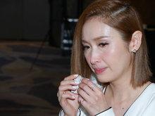 香港女主播陈贝儿宣布离婚 泪洒记者会