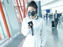 唐艺昕,机场,低调,八卦爆料,国内女明星,