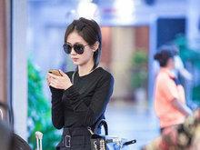 王子文,机场,北京,高级黑,少女,八卦爆料,
