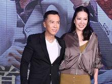 甄子丹携老婆宣传新片 遭激动大哭迷妹拉扯求合影