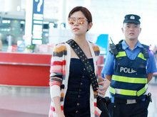 陈妍希,陈晓,机场,八卦爆料,国内女明星,