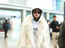 宋茜,机场,美腿,八卦爆料,国内女明星,