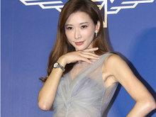 """林志玲穿性感纱裙出席名表活动 说自己是""""圆梦小天使"""""""