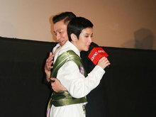 《电影妖铃铃》举行香港首映礼 刘德华撑场吴君如献拥抱