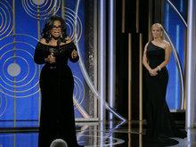第75届美国电影电视金球奖 奥普拉·温弗莉获得终生成就奖
