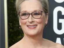 第75届美国电影电视金球奖 老戏骨梅丽尔亮相红毯