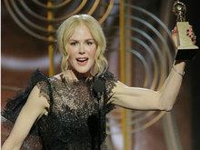 第75届美国电影电视金球奖颁出 妮可·基德曼凭《大小谎言》获得头奖