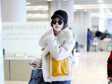羊羔绒,唐艺昕,大衣,八卦爆料,国内女明星,