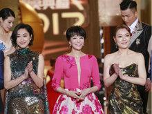 TVB台庆红毯揭晓各大奖项 上届视帝视后陈展鹏胡定欣亮相